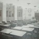 učebna s původním vybavením