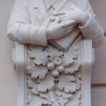 reliéf, detail